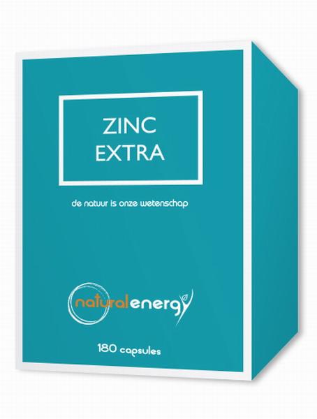 ZINC EXTRA 180 CAPS NATURAL ENERGY